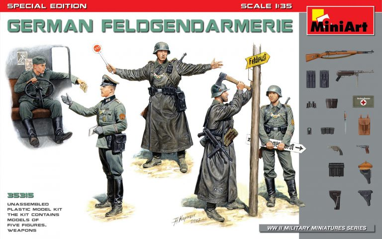 GERMAN FELDGENDARMERIE. SPECIAL EDITION