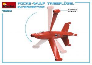 3D renders 40002 FOCKE WULF TRIEBFLUGEL INTERCEPTOR