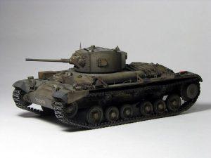 35116 BRITISH INFANTRY TANK Mk.III VALENTINE Mk.I + Mrack