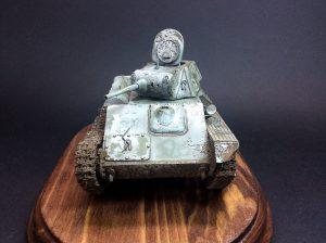 35194 T-70M SOVIET LIGHT TANK w/CREW. SPECIAL EDITION + Anton Andrianov