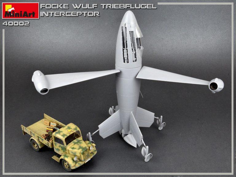 40002 FOCKE WULF TRIEBFLUGEL INTERCEPTOR