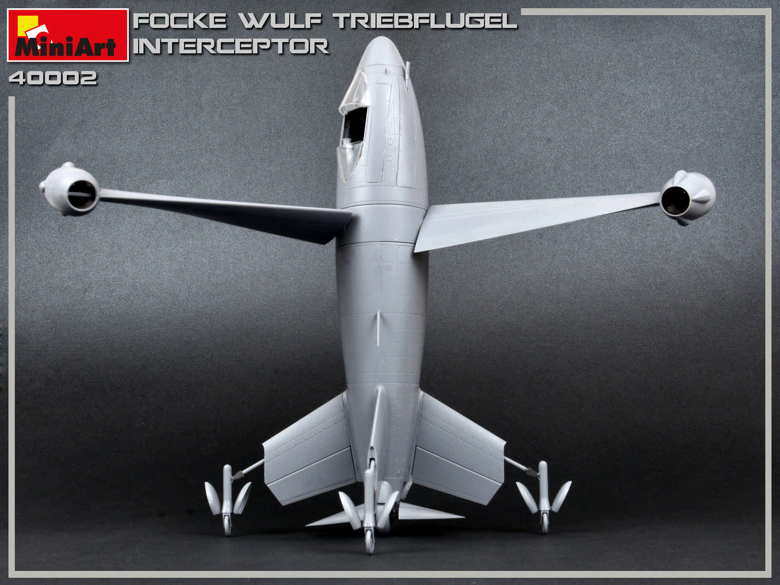 New Photos of Kit: 40002 FOCKE WULF TRIEBFLUGEL INTERCEPTOR
