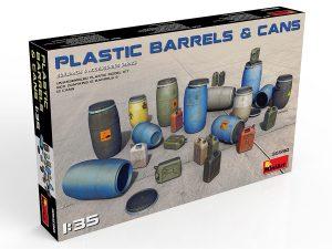 Content box 35590 PLASTIC BARRELS & CANS