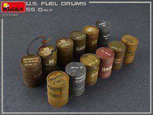 Photos 35592 美军燃料桶(55加仑)