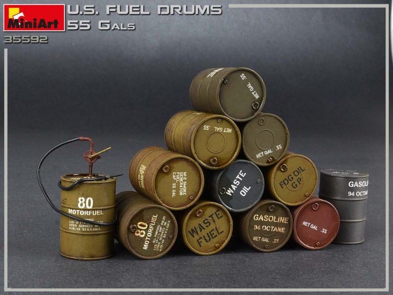 35592 美军燃料桶(55加仑)