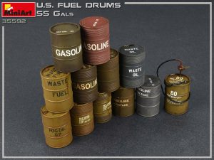 Photos 35592 U.S. Treibstofffässer 55 Gallonen
