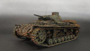 35213 Pz.Kpfw.III Ausf. D/B + K-suke Tanaka