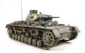 35221 Pz.Kpfw.III Ausf.B w/Crew + Vladimir Yashin