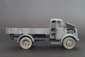 35142 MB 1500S GERMAN 1,5t CARGO TRUCK + Basco