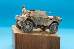 35067 DINGO Mk.1b BRITISH SCOUT CAR w/CREW