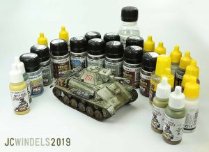 35194 T-70M SOVIET LIGHT TANK w/CREW. SPECIAL EDITION + JC Windels