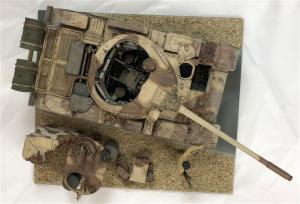 37018 T-55 Mod. 1963 INTERIOR KIT + James Wechsler