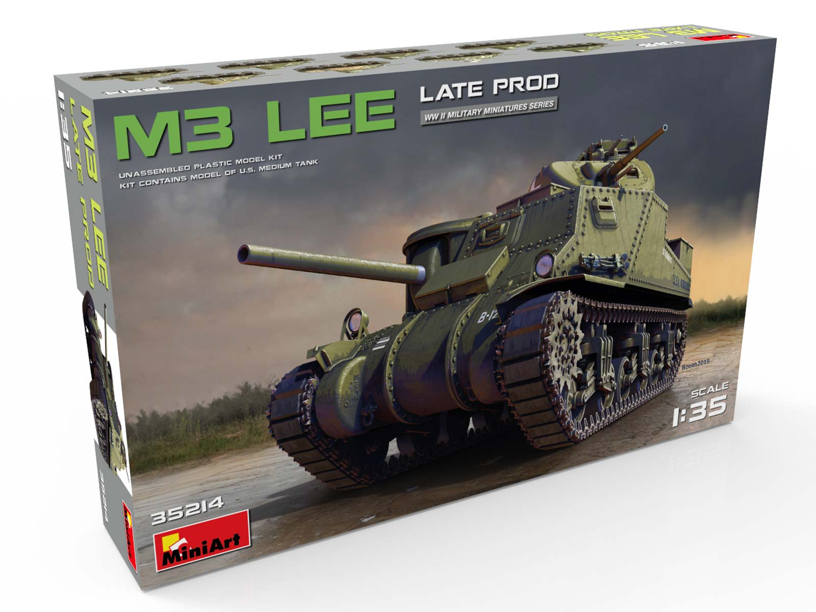 New Photos of Kit: 35214 M3 LEE LATE PROD.
