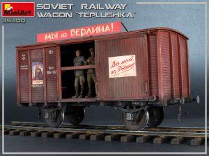 "Photos 35300 SOVIET RAILWAY WAGON ""TEPLUSHKA"""