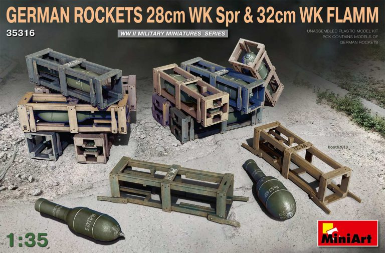 35316 GERMAN ROCKETS 28cm WK Spr & 32cm WK FLAMM