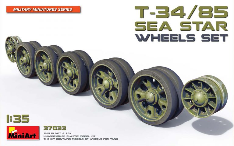 37033 T-34/85 SEA STAR WHEELS SET