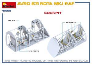 3D renders 41008 AVRO 671 ROTA MK.I RAF