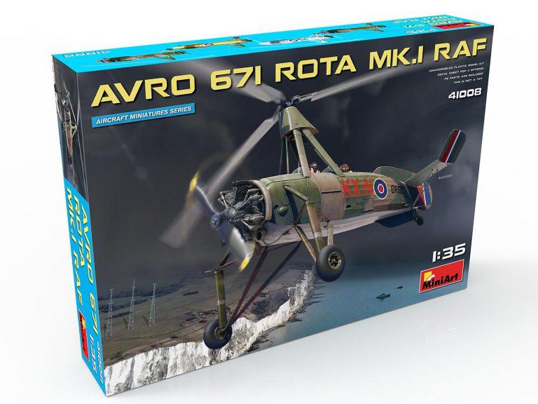 41008 Автожир Avro 671 Rota Mk.1 RAF