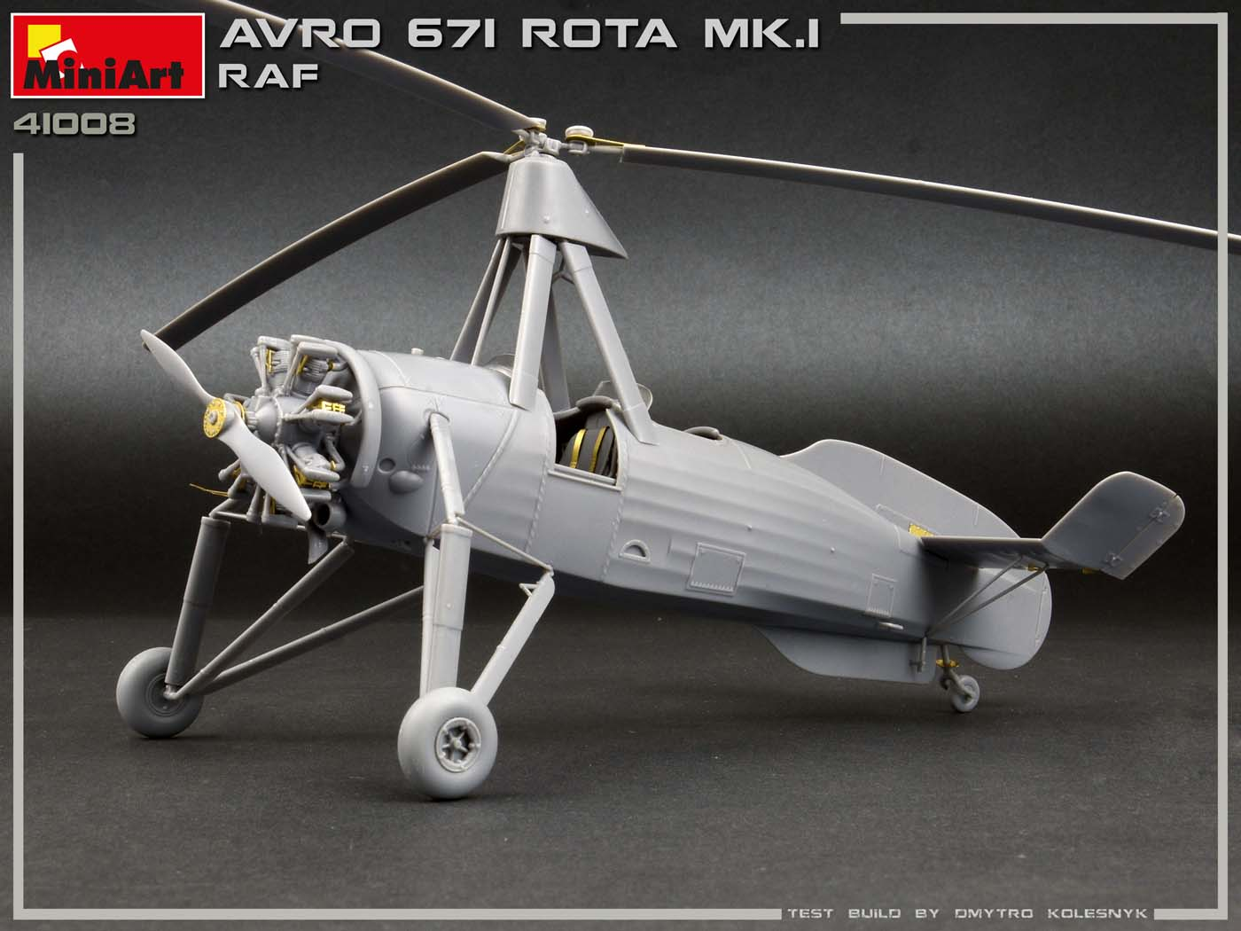 New Build Up Photos of Kit: 41008 AVRO 671 ROTA MK.I RAF