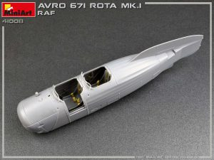 Build up 41008 英国皇家空军 AVRO 671 ROTA MK.I 旋翼机
