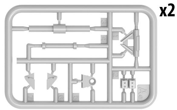 37045 KMT-7 Minenräumgerät mittlere Produktion