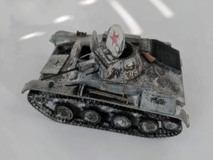 35215 T-60 EARLY SERIES. SOVIET LIGHT TANK. INTERIOR KIT + Sergey Fedorinov
