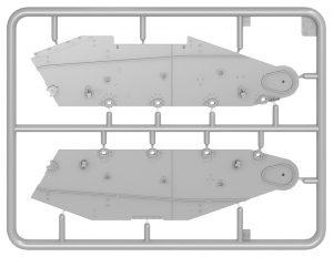 Content box 35230 TACAM T-60 rumänischer Panzerjäger Kit mit Inneneinrichtung