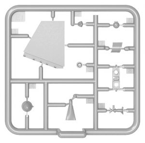 Content box 35230 TACAM T-60 ROMANIAN TANK DESTROYER. INTERIOR KIT