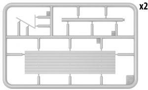"Content box 35300 SOVIET RAILWAY WAGON ""TEPLUSHKA"""