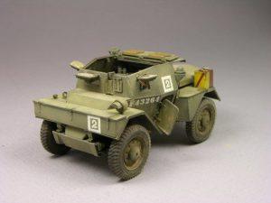 35074 DINGO Mk.II SCOUT CAR w/CREW Pz.Kmpf. Mk.I 202(e) + Tom Jett