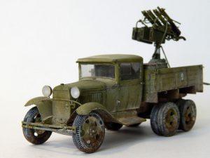 35177 GAZ-AAA w/QUAD M4 MAXIM + Andrey Kalinin