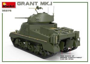 3D renders 35276 英军格兰特 Mk.I 中型坦克