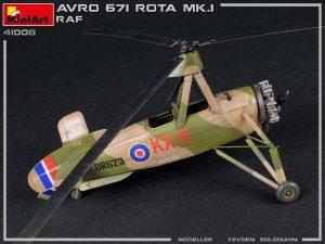 Photos 41008 英国皇家空军 AVRO 671 ROTA MK.I 旋翼机