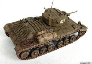 35092 VALENTINE Mk.IV RED ARMY w/CREW + Evgenij