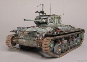 35092 VALENTINE Mk.IV RED ARMY w/CREW + TONI JUSSILA