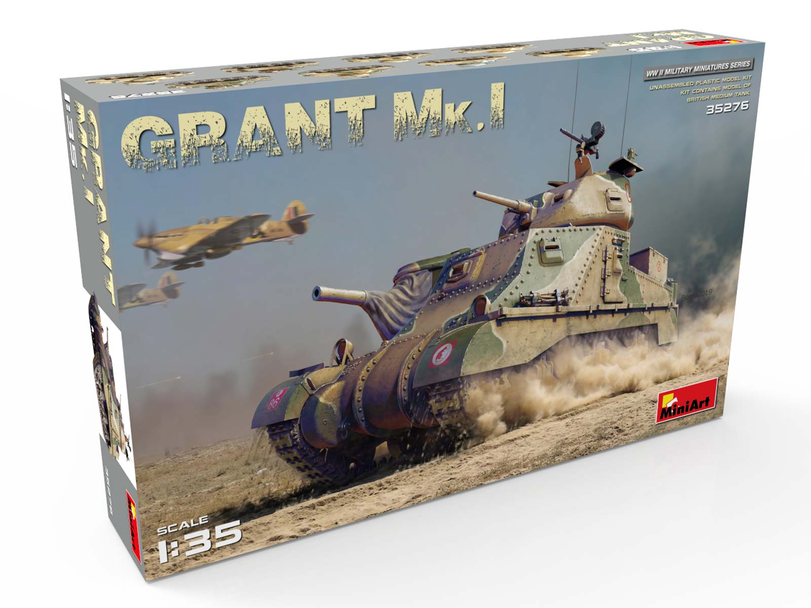 New Photos of Kit: 35276 GRANT Mk.I
