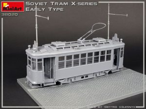 Build up 38020 SOVIET TRAM X-SERIES. EARLY TYPE
