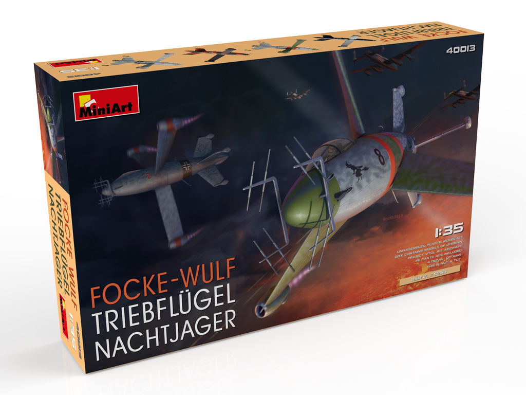 New Photos of Kit: 40013 FOCKE WULF TRIEBFLUGEL NACHTJAGER + Evgeniy Solodyhin