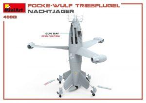 3D renders 40013 フォッケウルフトリープフリューゲル(夜間戦闘機)