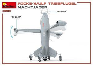 3D renders 40013 FOCKE WULF TRIEBFLUGEL NACHTJAGER