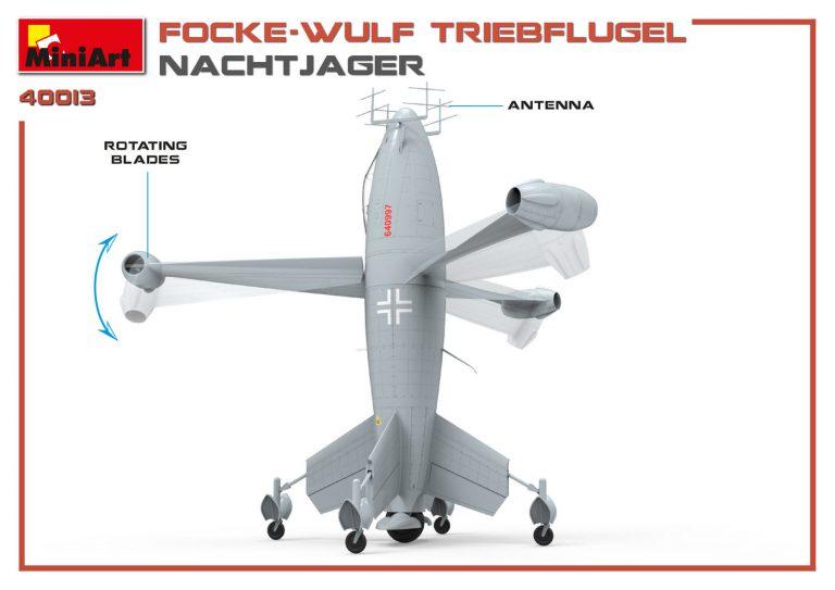 40013 FOCKE WULF TRIEBFLUGEL NACHTJAGER