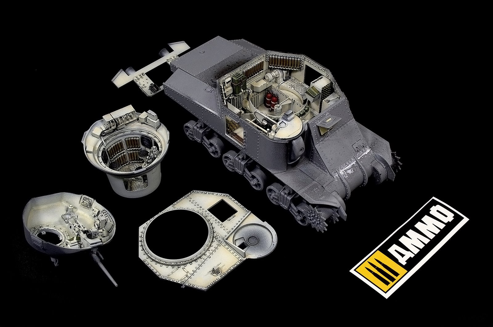 New Build Up Photos: 35217 GRANT Mk.I INTERIOR KIT + Igor Sydorenko Part 2