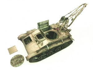 35238 BERGEPANZER T-60 ( r ) INTERIOR KIT + Theodoros Kalamatas Historical Miniature Workshop
