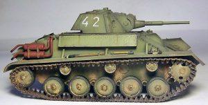 35194 T-70M SOVIET LIGHT TANK w/CREW. SPECIAL EDITION + Pavel Mosalov