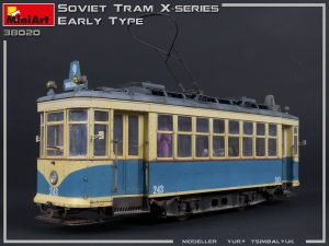 Photos 38020 SOVIET TRAM X-SERIES. EARLY TYPE