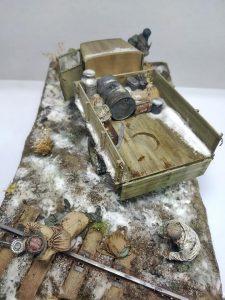 35134 GAZ-MM Mod.1943 LASTWAGEN + MartinGiangrecodioramics