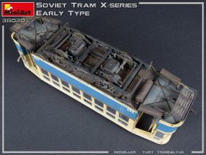 38020 SOVIET TRAM X-SERIES. EARLY TYPE + Yury Tsimbalyuk