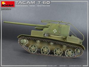 Photos 35230 TACAM T-60 ROMANIAN TANK DESTROYER. INTERIOR KIT