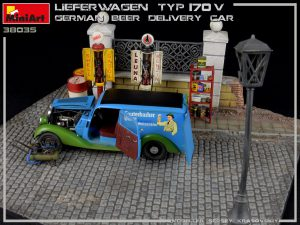 38035 LIEFERWAGEN TYP 170V GERMAN BEER DELIVERY CAR + Sergey Krasovskiy