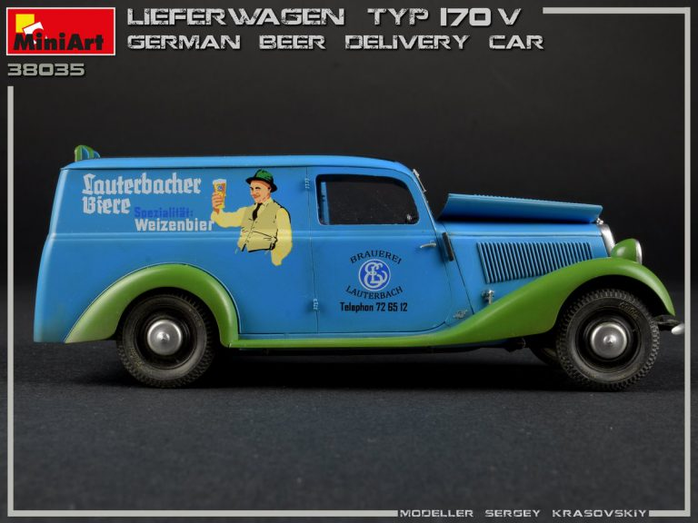 38035 LIEFERWAGEN TYP 170V GERMAN BEER DELIVERY CAR